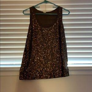 👍 5/$10!!! Sequined gap shirt. Medium